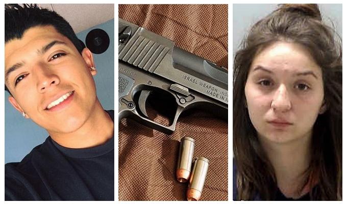 情侣表演书挡子弹身亡 3岁女儿目击妈妈枪杀爸爸一幕