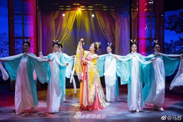 马苏扮杨贵妃惊艳四座 《国家宝藏》是什么节目在哪播出