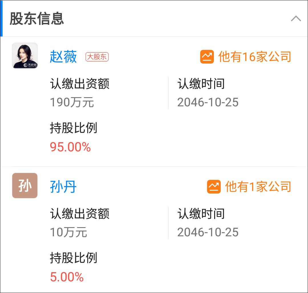 赵薇退出龙薇传媒怎么回事 为什么赵薇退出龙薇传媒?