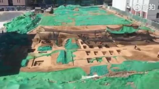 清华大学发现古墓怎么回事 发掘现场图片曝光