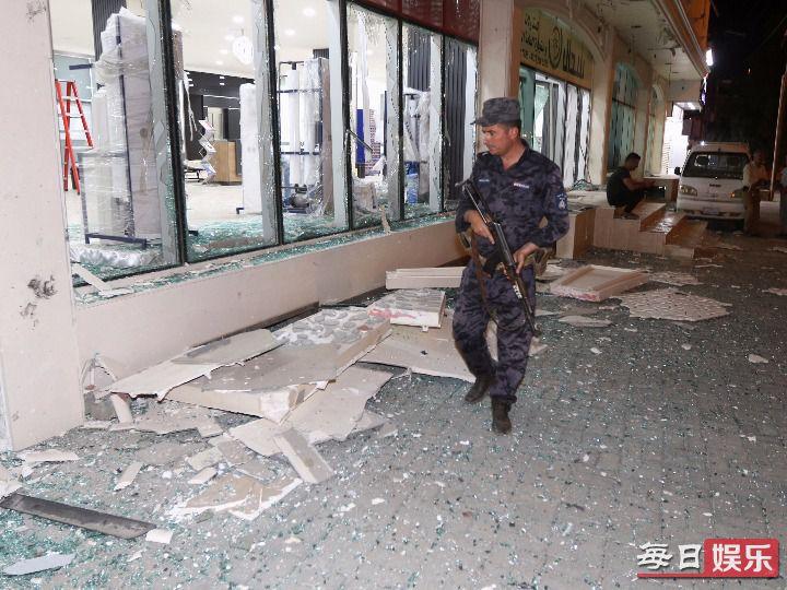 伊拉克军火库爆炸原因是什么 事发经过及现场图片曝光