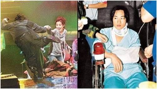 陈奕迅舞台摔伤是哪场演唱会