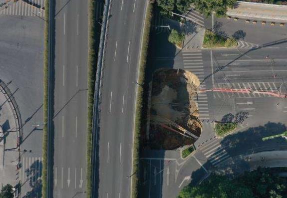 广州地铁发生塌陷具体情况及现场图片曝光