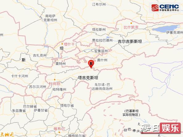 塔吉克斯坦地震多少级 塔吉克斯坦是什么国家?