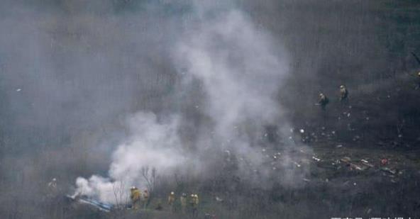 科比飞机坠毁经过曝光 现场图片令人不寒而栗!